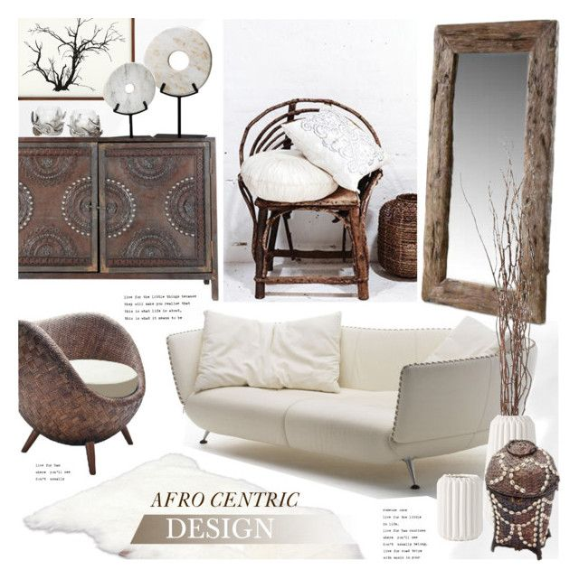 """""""Afro Centric Design"""" by revan ❤ liked on Polyvore featuring interior, interiors, interior design, home, home decor, interior decorating, UGG Australia, Cyan Design and Pier 1 Imports"""