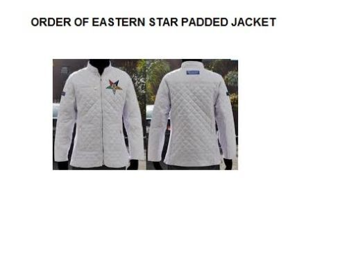 Order of the Eastern Star Padded Jacket