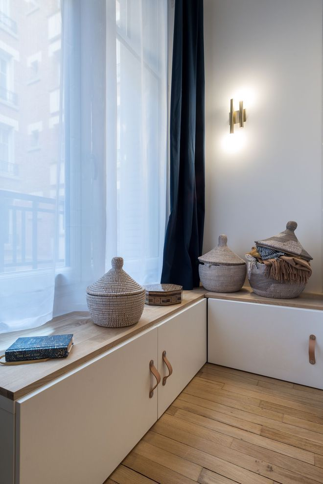 Appartement Paris 20  un 3 pièces de 60 m2 lumineux Pinterest Room