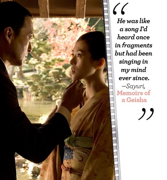 What You Can Learn from Iconic Romances - Sayuri & the Chairman | Gallery | Glo