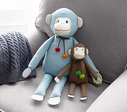 Swinging Monkey Plush Kid At Heart Baby Bedding Sets