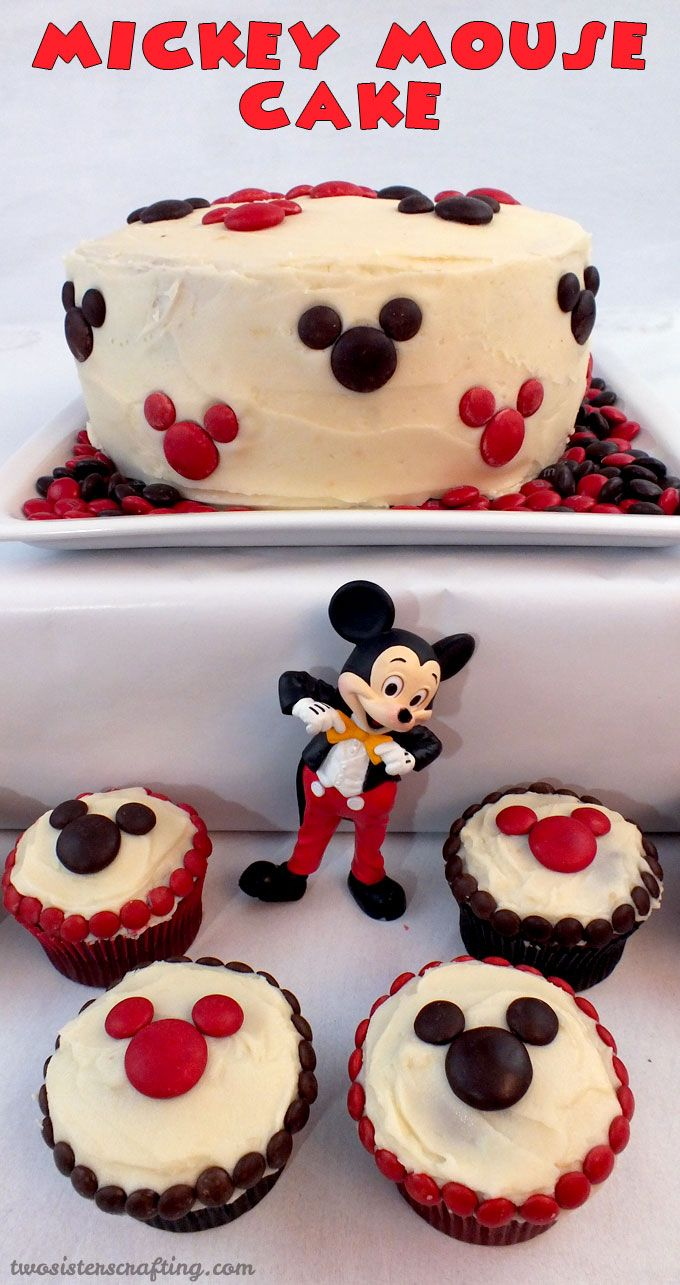 Mickey Mouse Cake Mickey mouse cake Mickey mouse parties and