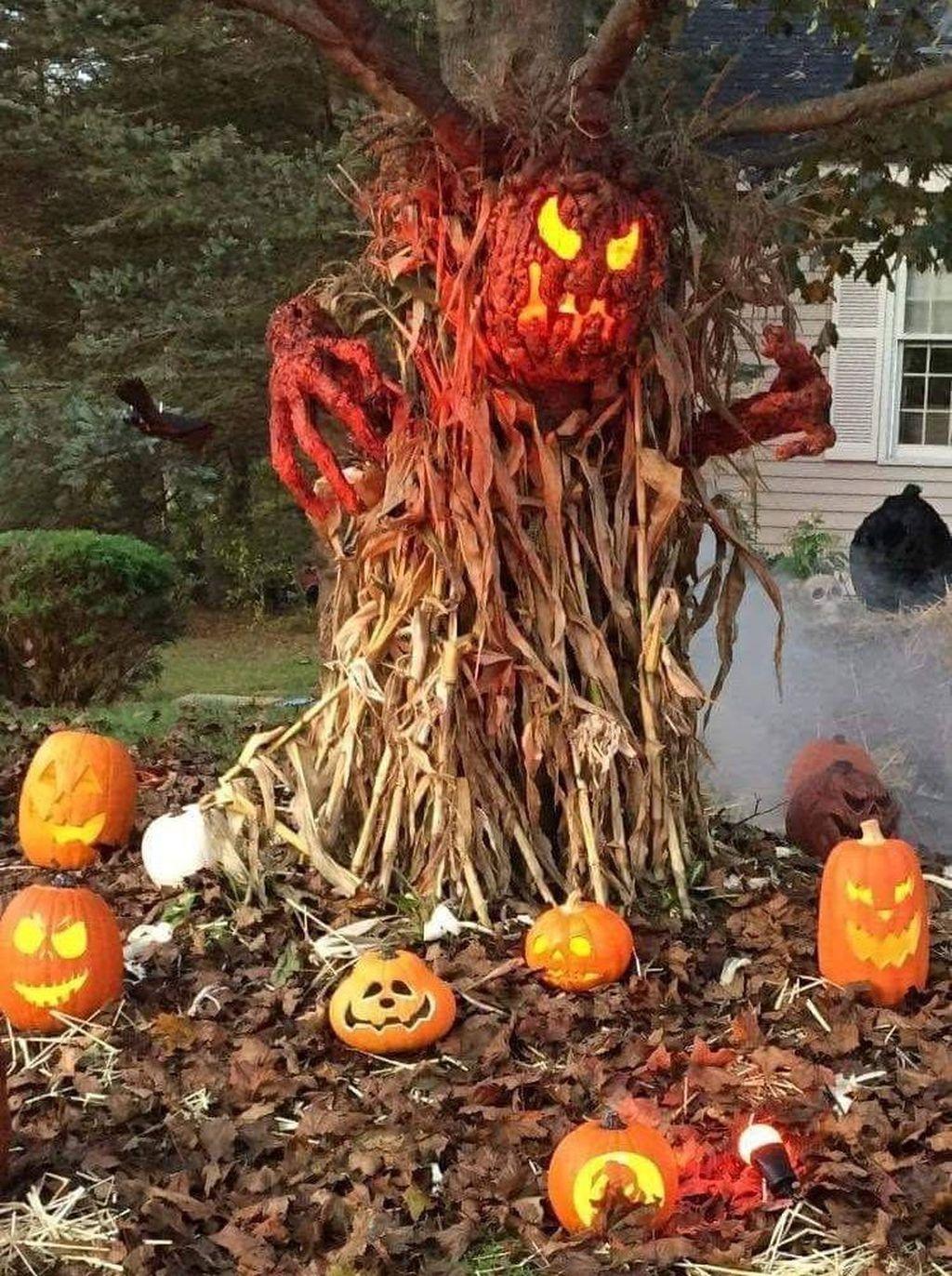 Nice 49 Best Front Yard Halloween Decoration Ideas