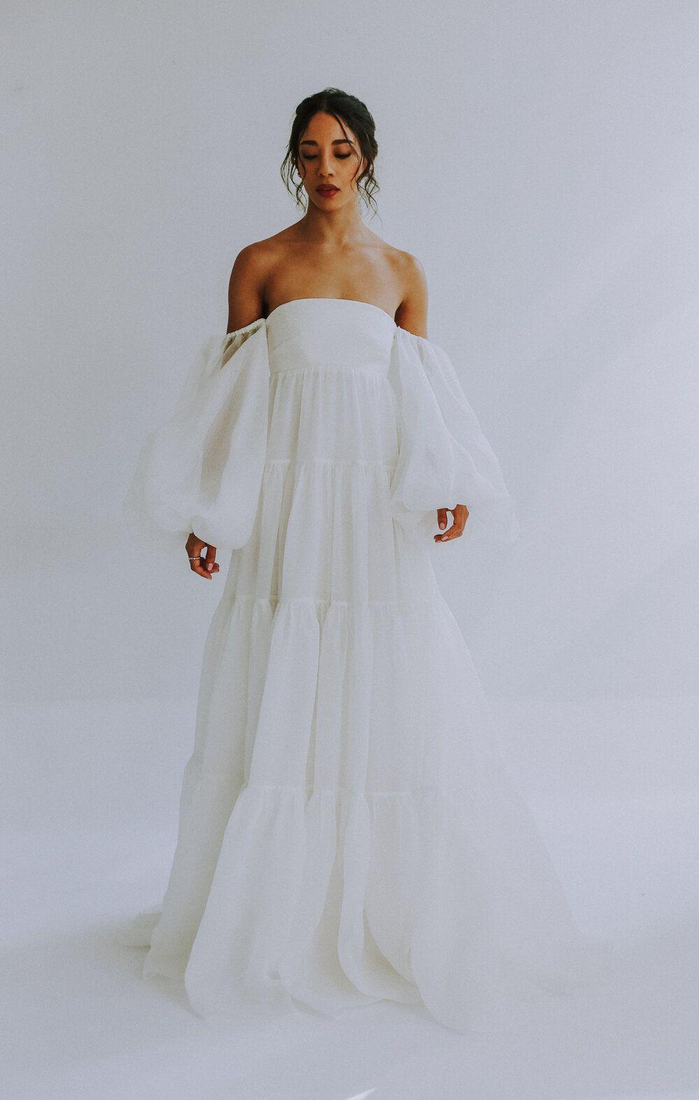 BHLDN Tallulah, $1,750 Size: 4 | New (Un-Altered) Wedding ... |Tallulah Wedding Dress