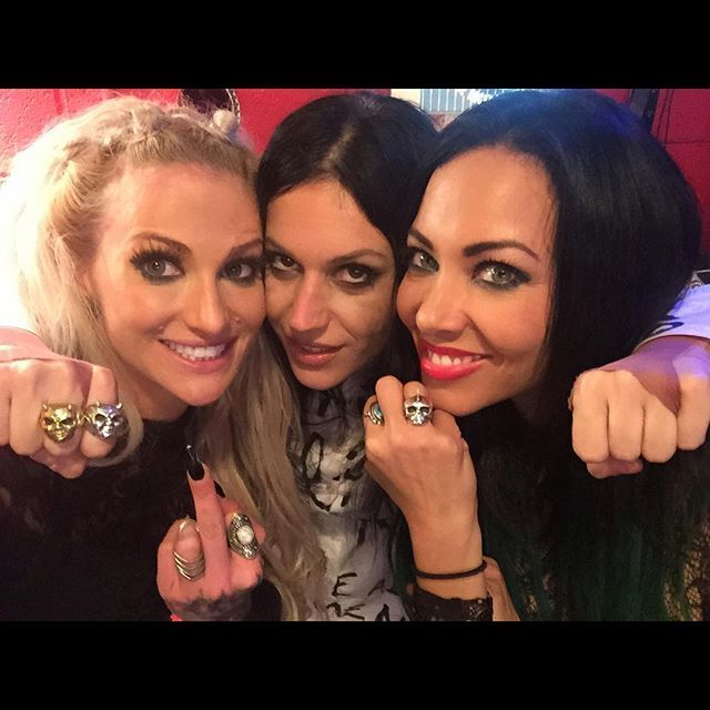 BUTCHER BABIES and CRISTINA SCABBIA