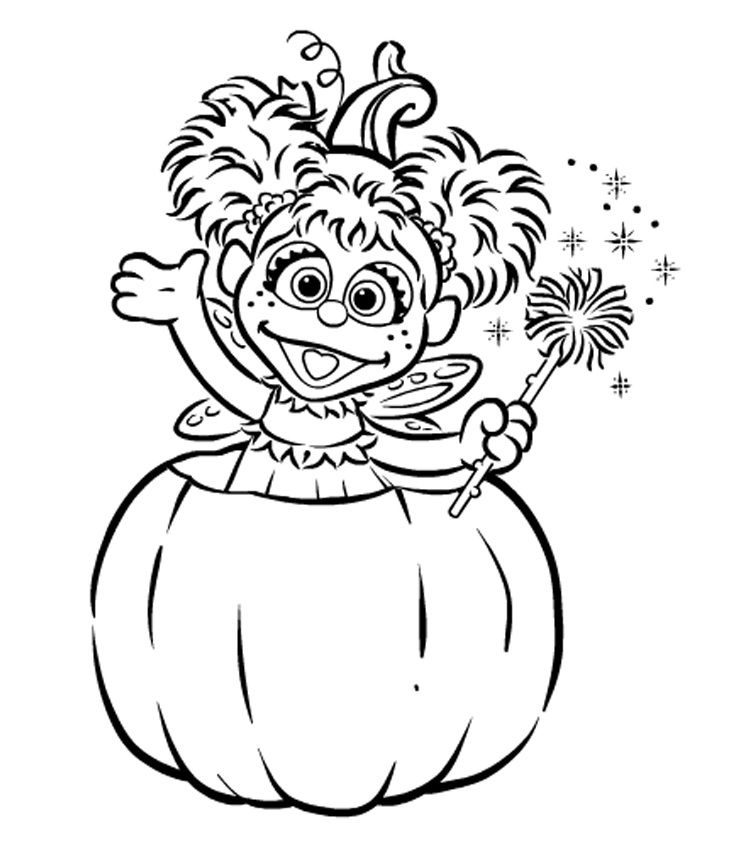 Abby Cadabby in Pumpkin | Birthday Planning OCD :) | Pinterest ...