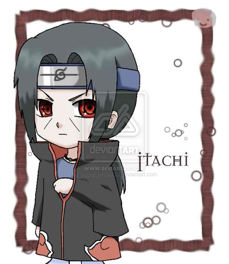 Chibi itachi...OMG So cuuute!