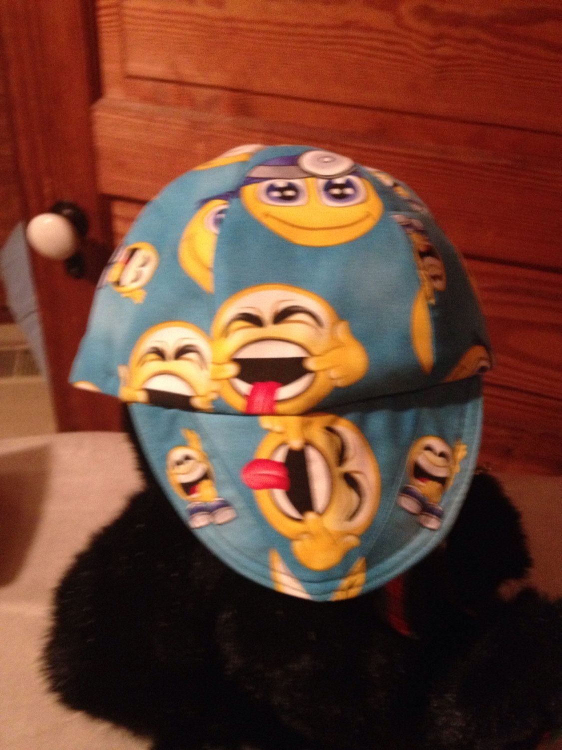 WELDING CAP MADE WITH Smiley faces