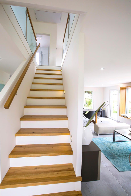 Dennert Treppen treppe gerade als raumteiler inneneinrichtung haus icon 3 01