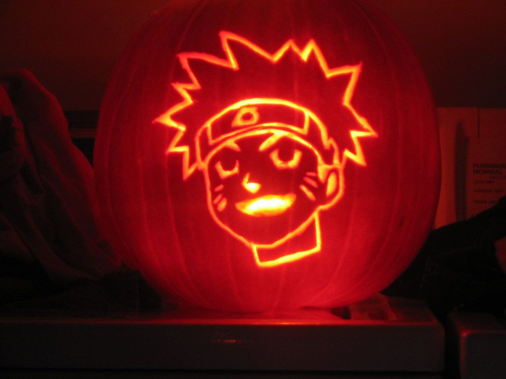 Naruto Pumpkin Patterns Stencils