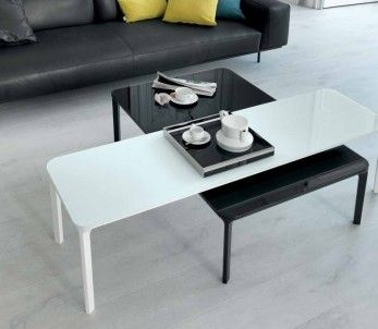 Slim Coffee Table Is An Element Of Essential And Versatile Design That  Easily Fits In Various Spaces And Ambiances. Available In Two Heights, H.  37 And H.