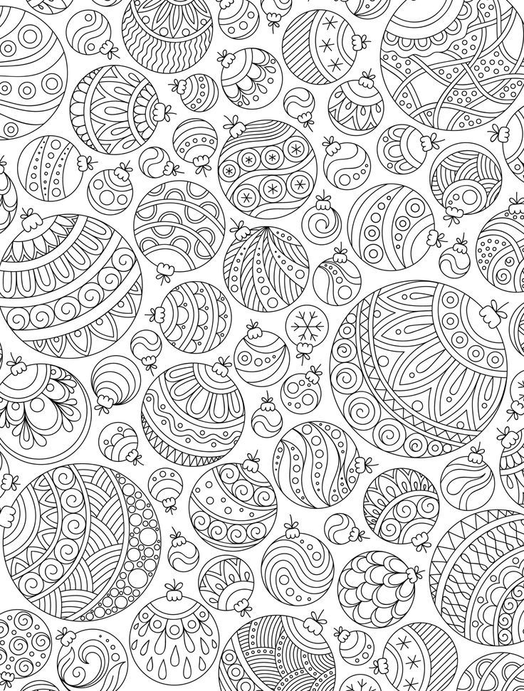 15 CRAZY Busy Coloring Pages for Adults | school ideas ...