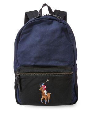 8cfa1b33b3 Polo Ralph Lauren Canvas Big Pony Backpack