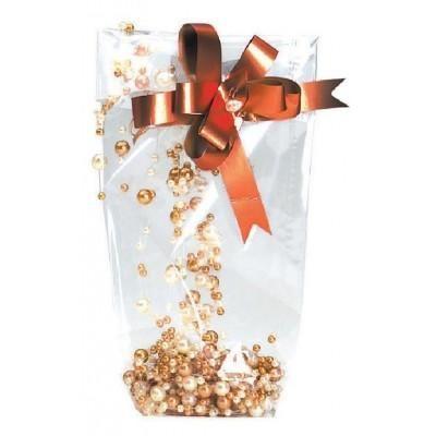 Zakjes met kartonnen bodem - 14 x 30,5 cm - per  100
