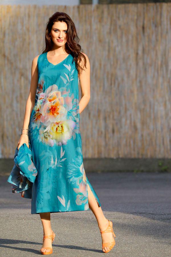 Kleid, reines Leinen, selection | Kleider, Leinenkleid und ...