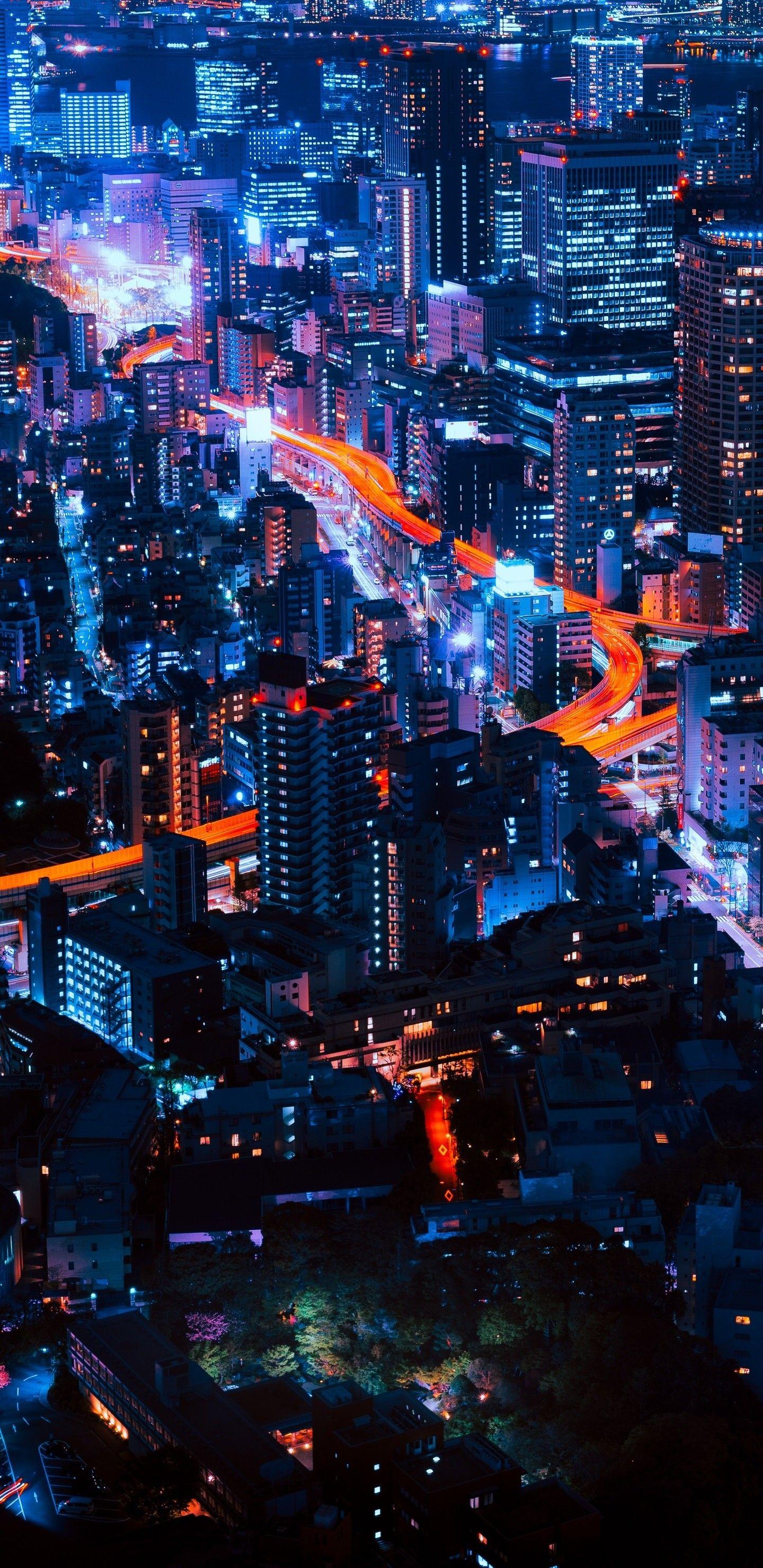 1440x2960 Hd Wallpaper 049 City Iphone Wallpaper City Wallpaper Neon Wallpaper