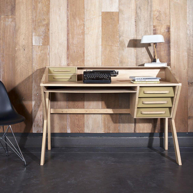 Zen Desk | Zen desk, Desk with drawers, Solid wood office