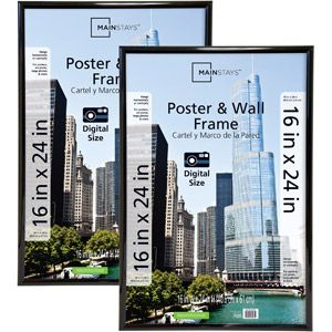 mainstays 16x24 trendsetter poster and