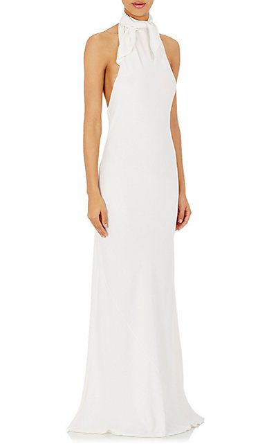 The Row Crepe Kailal Gown Gowns Barneys