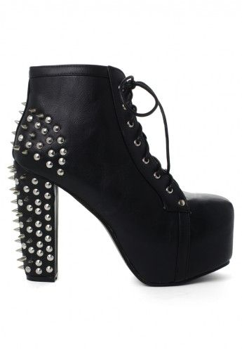 a45f047ec82 Spike Studded Platform Boots!!! I LOVE THESE 3