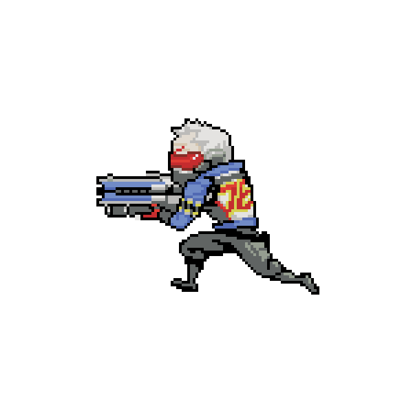 Gamers Plural Overwatch Pixel Art Characters Pixel Characters