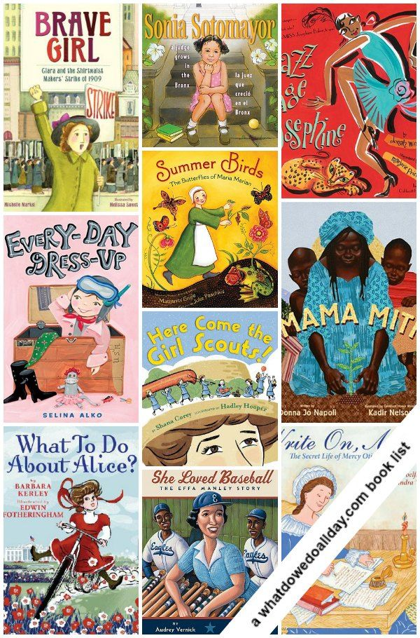 childrens biography books picture book