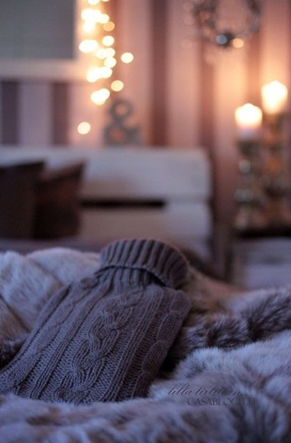 This autumn staying in is the new going out!  Grab a hot water bottle as it;s time to devour those box sets in your onesie.  Extra faux fur throws and cashmere blankets optional!