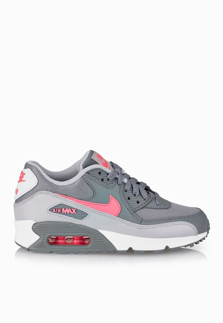 low priced 894d2 d8f8c Shop grey Air Max 90 Youth from Nike grey at Namshi.com - Children Shoes in  Saudi