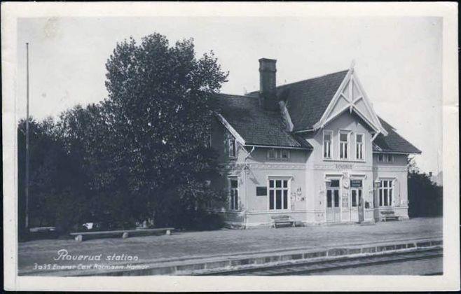 Roverud stasjon, Solørbanen.