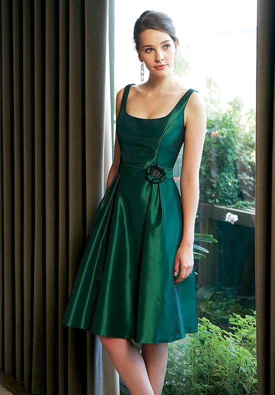 Love the shape of this dress for a bridesmaid's dress, would have ...
