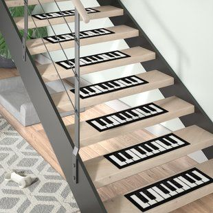 Best Stair Tread Rugs You Ll Love Wayfair Stair Tread Rugs 640 x 480