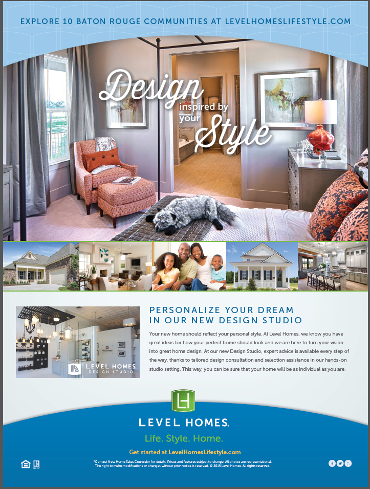 Baton Rouge · Personalize Your Dream Home In The Level Homes Design Studio.