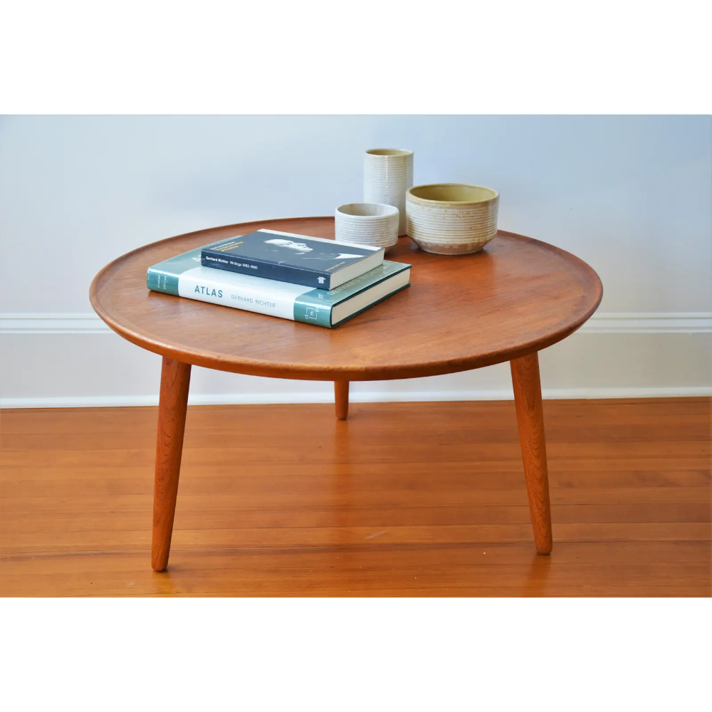 Anton Kildeberg For Odense Mobelfabrik Danish Modern Round Coffee Table Chairish Coffee Table Round Coffee Table Modern Teak Coffee Table [ 1000 x 1000 Pixel ]