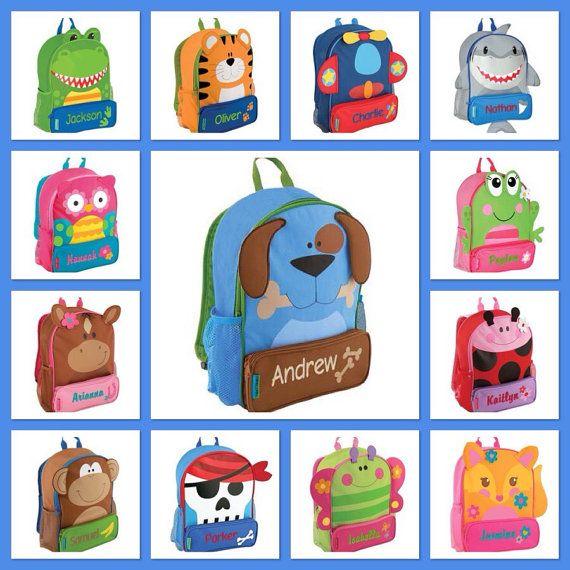 f36598973febb6 Stephen Joseph backapck   personalized backpack   preschool backpack   toddler  backpack   SIDEKICK