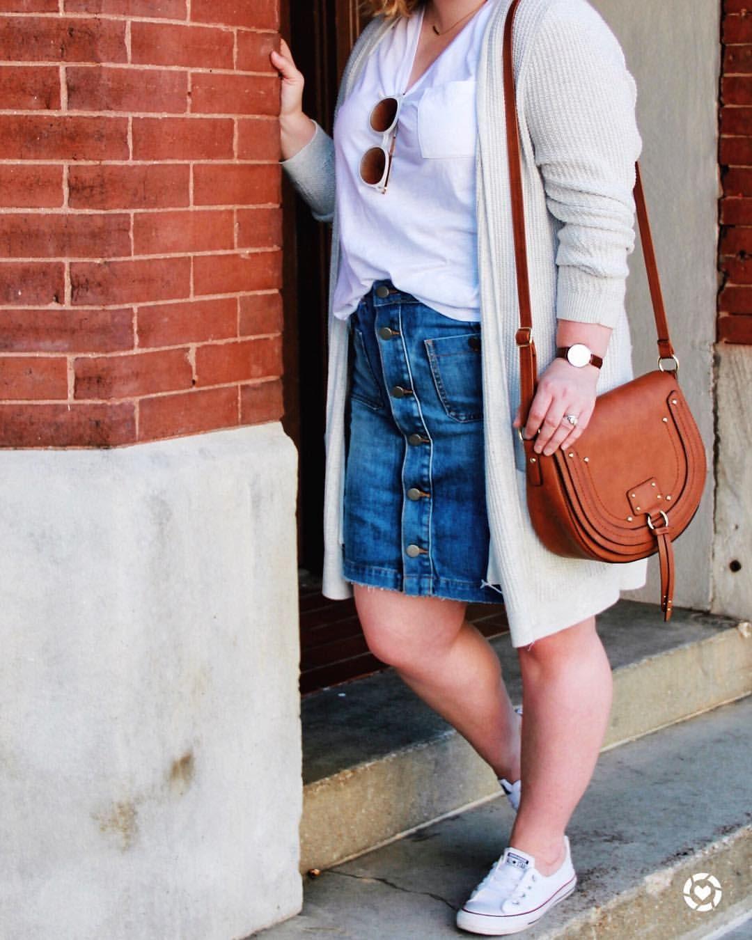 3e1683e358b15 denim skirt ( missannagray)