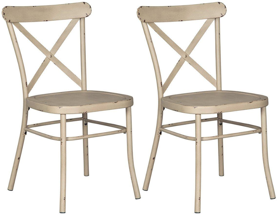 Signature Design By Ashley Minnona Dining Chair Antique White