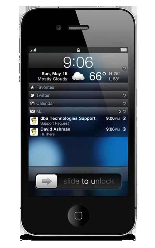 LockInfo iOS Cydia Custom notification page on your