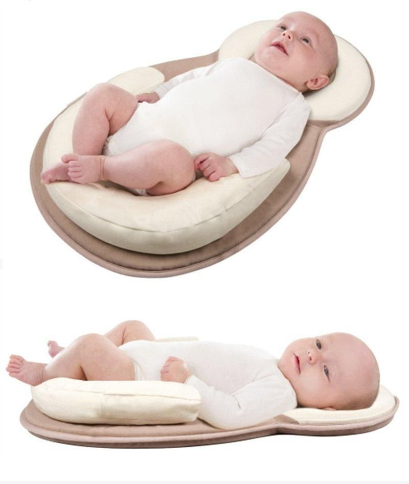 Comfy Baby Wedge Crib Pillow and Sleep