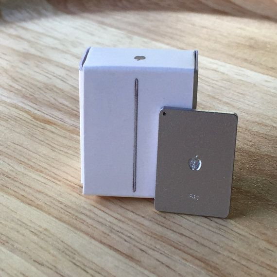 1/12 Silver iPad Air Tablet Computer Toy for by liluminiature