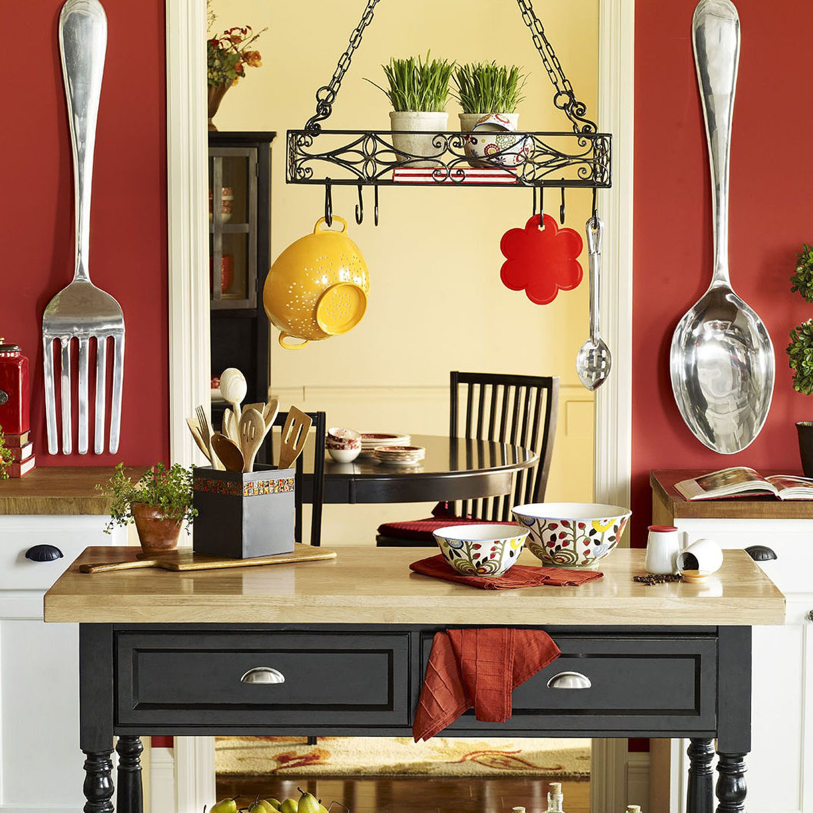 Silver Fork and Spoon Wall Décor | Pier 1 Imports - I want these ...