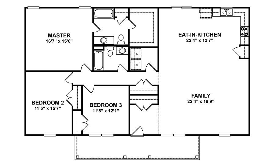 New Bern Home Plan Build It Across The Carolinas Red Door Homes Nc House Plans Floor Plans How To Plan