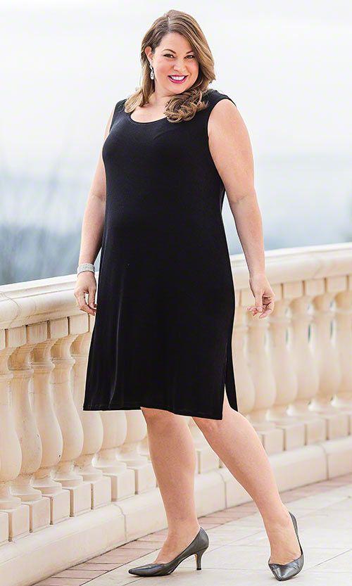 Little Black Dress Mib Plus Size Fashion For Women Cute Plus