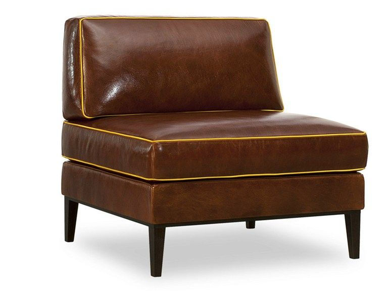 Remarkable Tanned Leather Armchair Godard Collection By Baxter Design Onthecornerstone Fun Painted Chair Ideas Images Onthecornerstoneorg