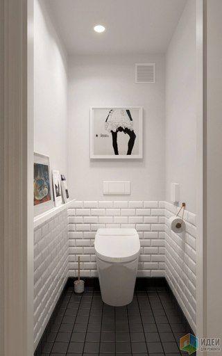 apartament de 60 mp inspiratie retro intr un decor contemporan imaginea 18 - Bathroom Ideas Metro Tiles