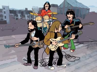 The Beatles Cartoon Arte De Los Beatles Caricaturas Caricaturas Divertidas