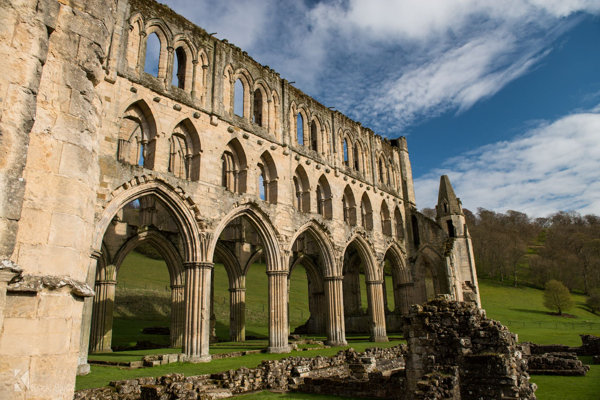 Rievaulx Abbey English Heritage Site is one of the finest Abbeys ...