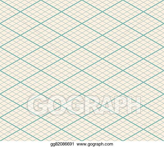 Vector Stock Isometric Vector Seamless Grid Background Thirty Degree Angle Clipart Illustration Gg82086691 Gograph Isometric Grid Isometric Clip Art