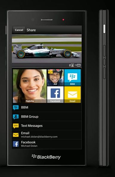 BlackBerry Z3 launched in India for ₹15,990 (INR) with 5