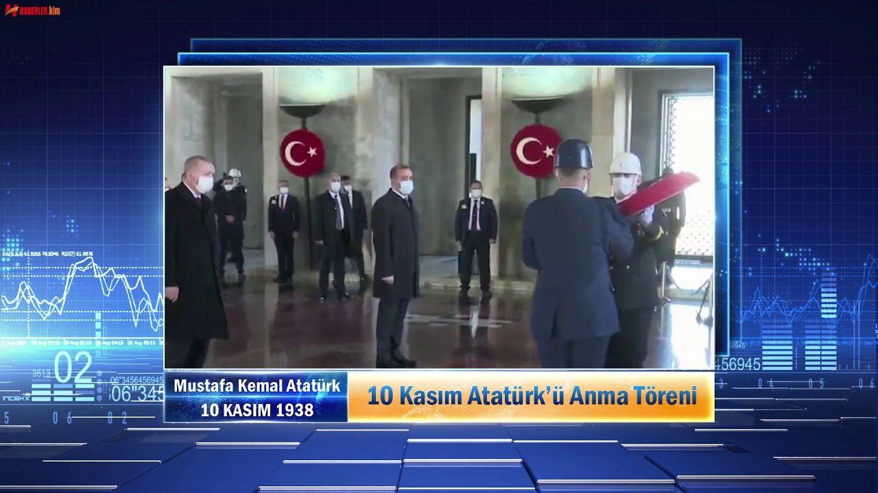 10 Kasım Atatürk'ü Anma Töreni #10Kasım #Atatürk #10Kasım1938 #GaziMus...