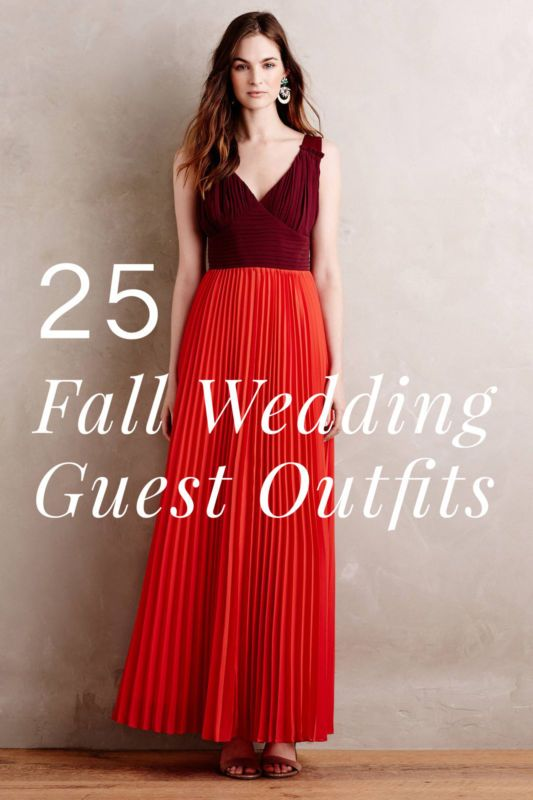 aa4942095c04 25-Fall-Wedding-Outfit-Ideas-for-Guests- in 2019 | Outfits | Fall ...